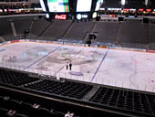 Dallas Stars Seat View for American Airlines Center Section 207