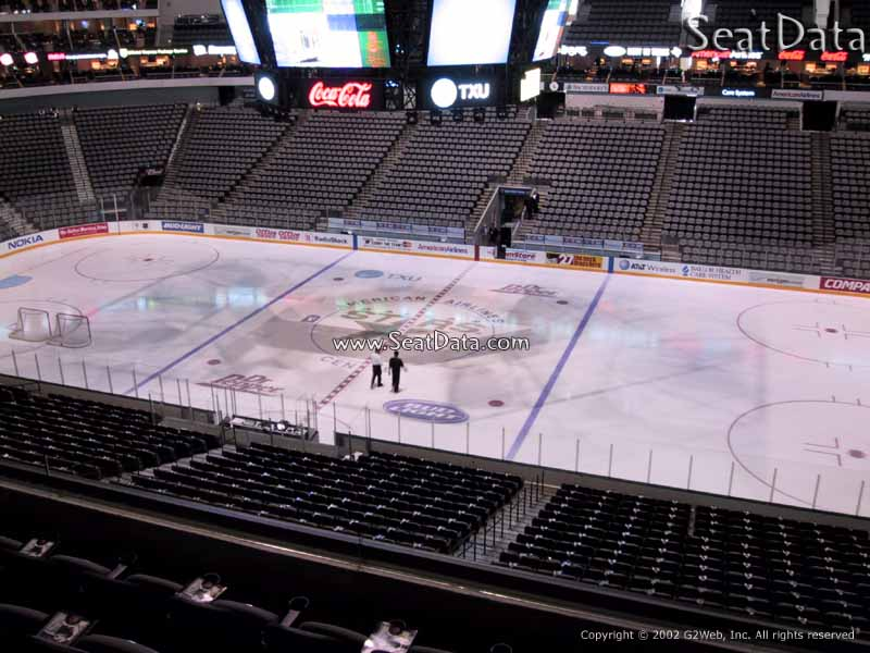 American Airlines Center Section 207 Dallas Stars