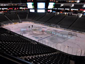Dallas Stars Seat View for American Airlines Center Section 214