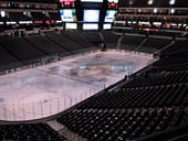 Dallas Stars Seat View for American Airlines Center Section 222