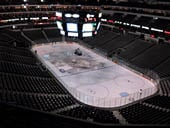 Dallas Stars Seat View for American Airlines Center Section 304