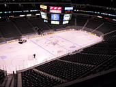 Dallas Stars Seat View for American Airlines Center Section 313