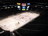 Dallas Stars Seat View for American Airlines Center Section 314