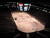 Dallas Stars Seat View for American Airlines Center Section 320