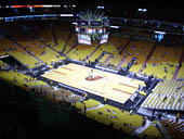 Seat View for AmericanAirlines Arena Section 322