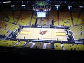 Seat View for AmericanAirlines Arena Section 324
