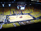 Seat View for AmericanAirlines Arena Section 326