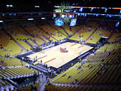 Seat View for AmericanAirlines Arena Section 329