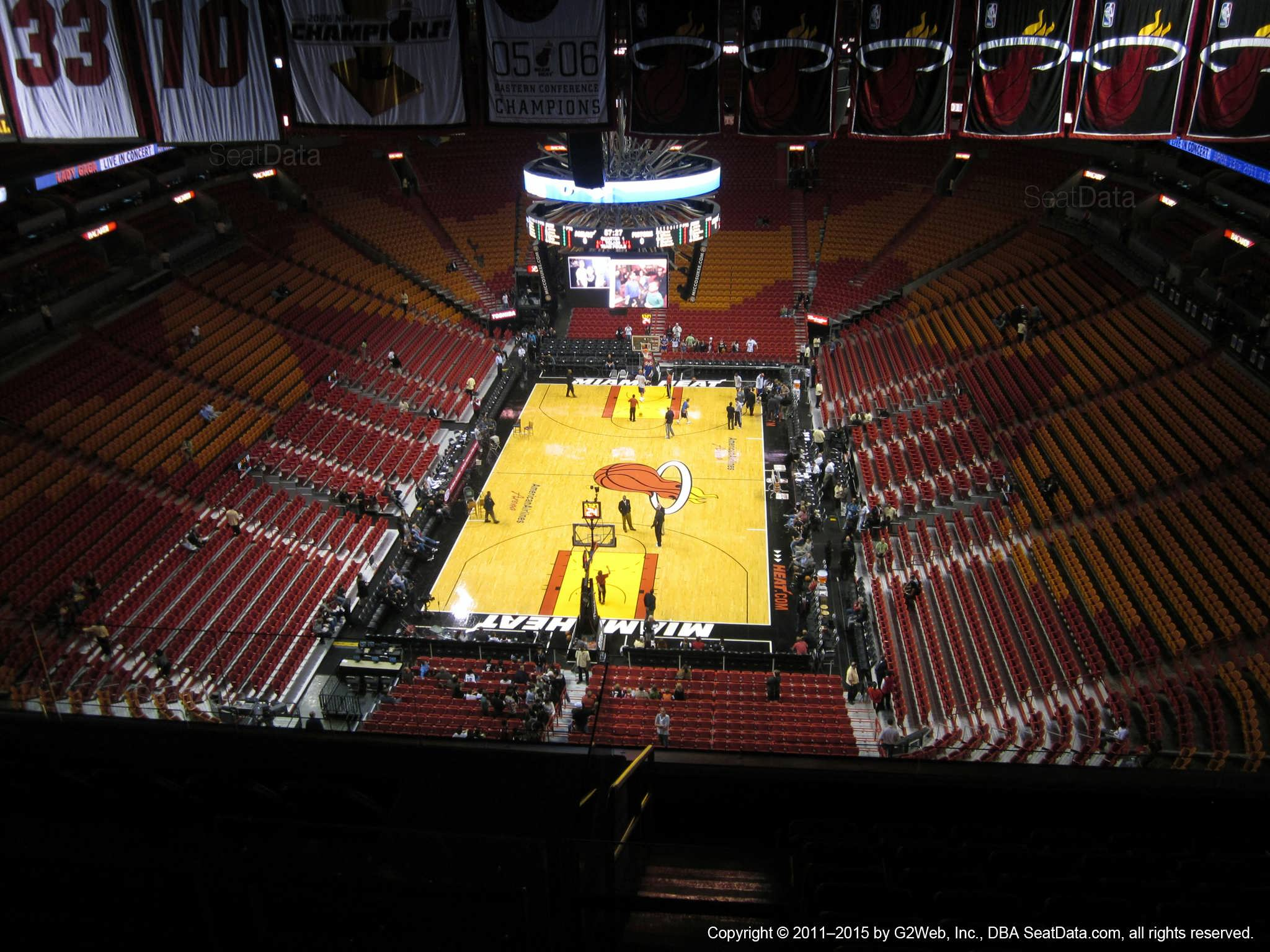 Americanairlines Arena Section 415 Miami Heat