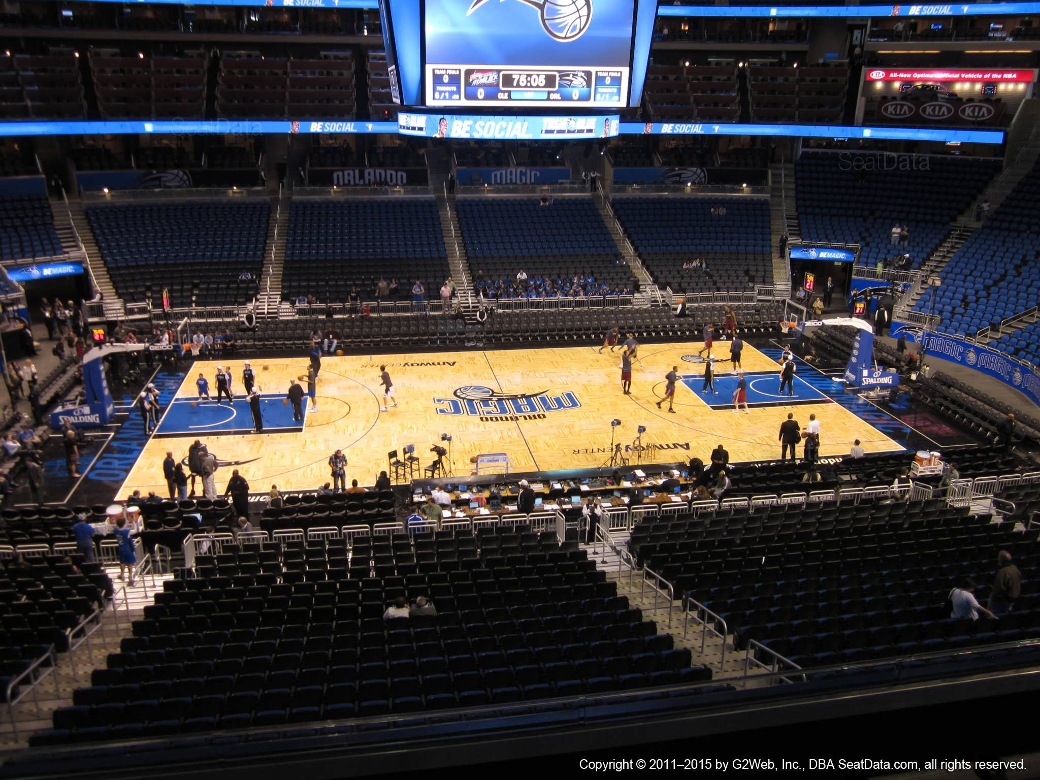 Amway center section cd orlando magic for Mercedes benz lounge amway center