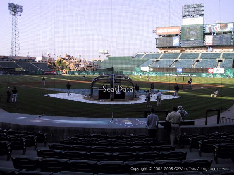Seat View for Angel Stadium Section 118