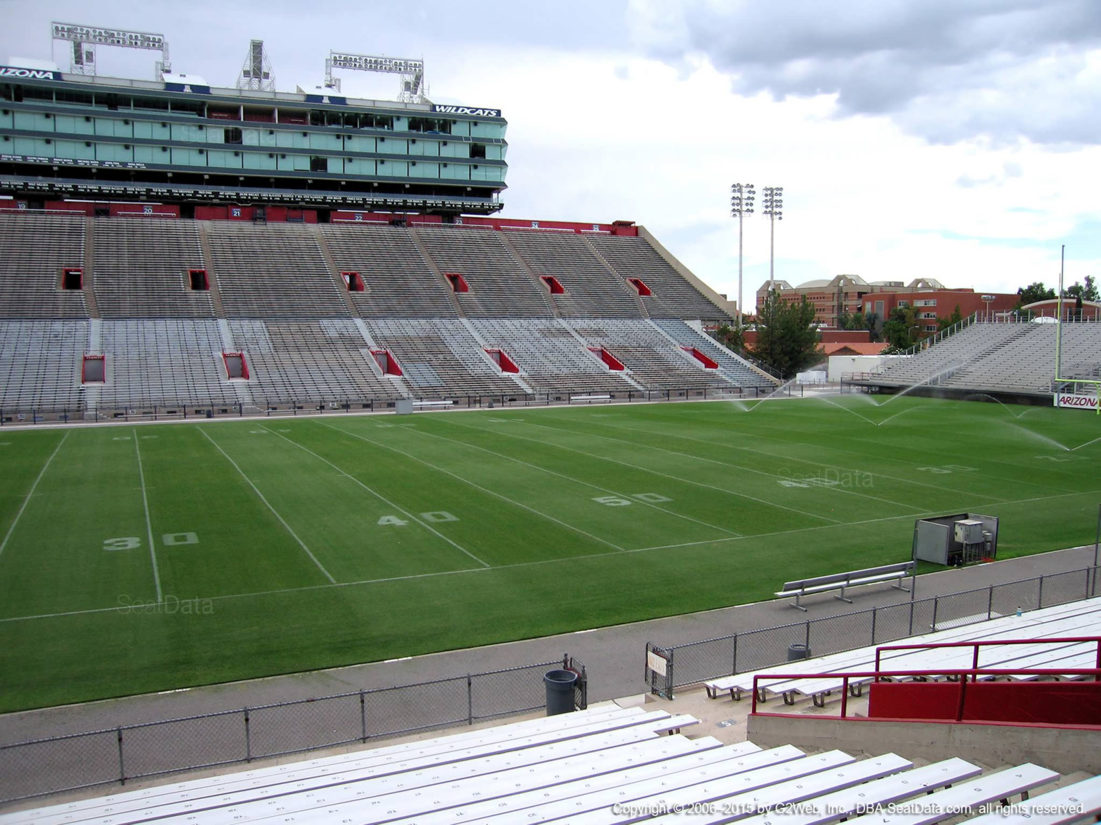 Seat View for Arizona Stadium Section 5