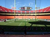 Seat View for Arrowhead Stadium Section 109