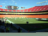 Seat View for Arrowhead Stadium Section 112