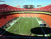 Seat View for Arrowhead Stadium Section 311