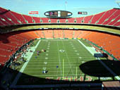 Seat View for Arrowhead Stadium Section 312