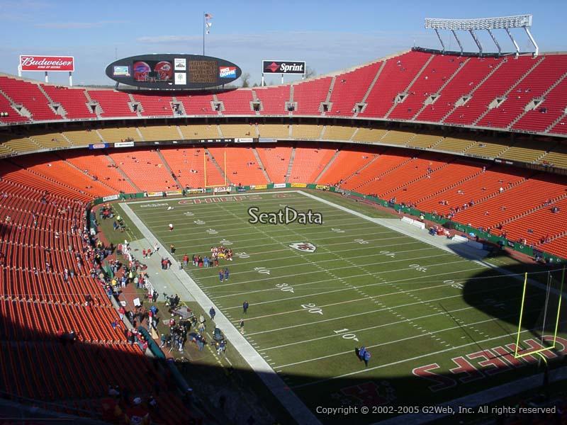 Arrowhead Stadium Section 315 - RateYourSeats.com