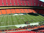 Seat View for Arrowhead Stadium Section 325