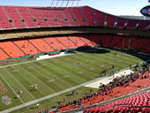 Seat View for Arrowhead Stadium Section 328