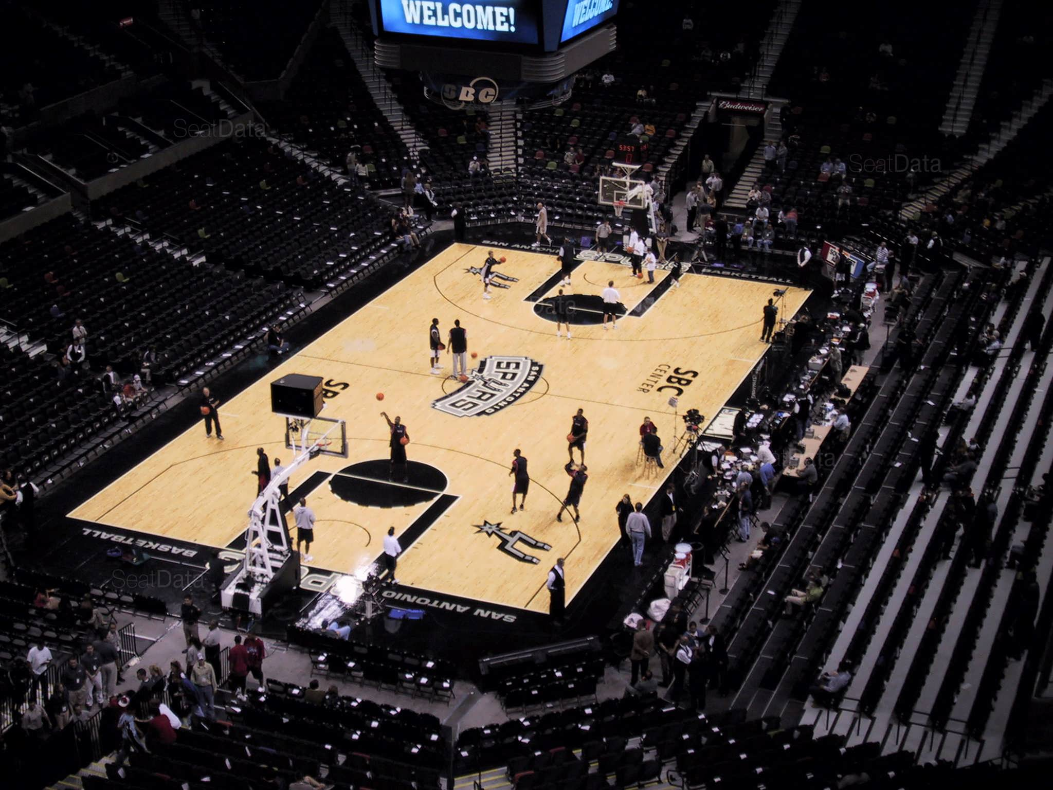 Seat View for AT&T Center Section 214