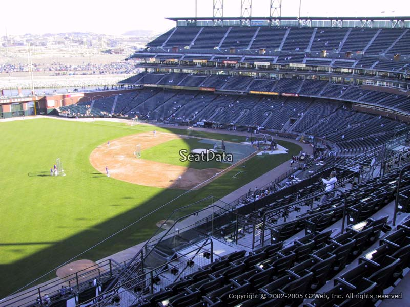 AT&T Park Section 331 Seat View