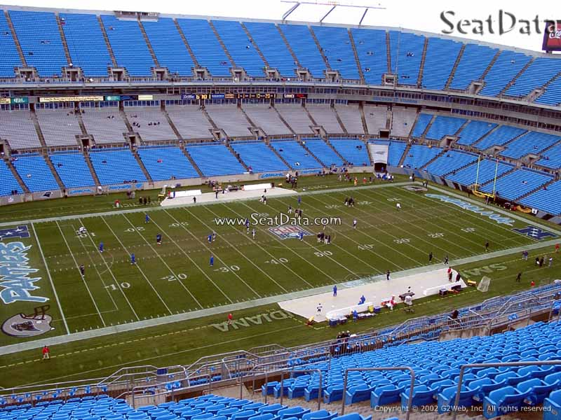 Bank Of America Stadium Seating View Review Home Decor