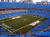 Seat View for Bank of America Stadium Section 549