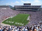 Seat View for Beaver Stadium Section NDU