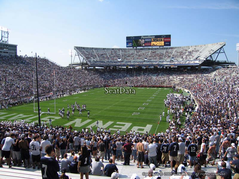 Seat View for Beaver Stadium Section SC