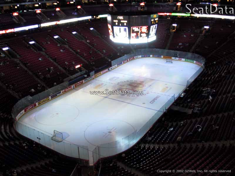 Bell Centre Section 325 View