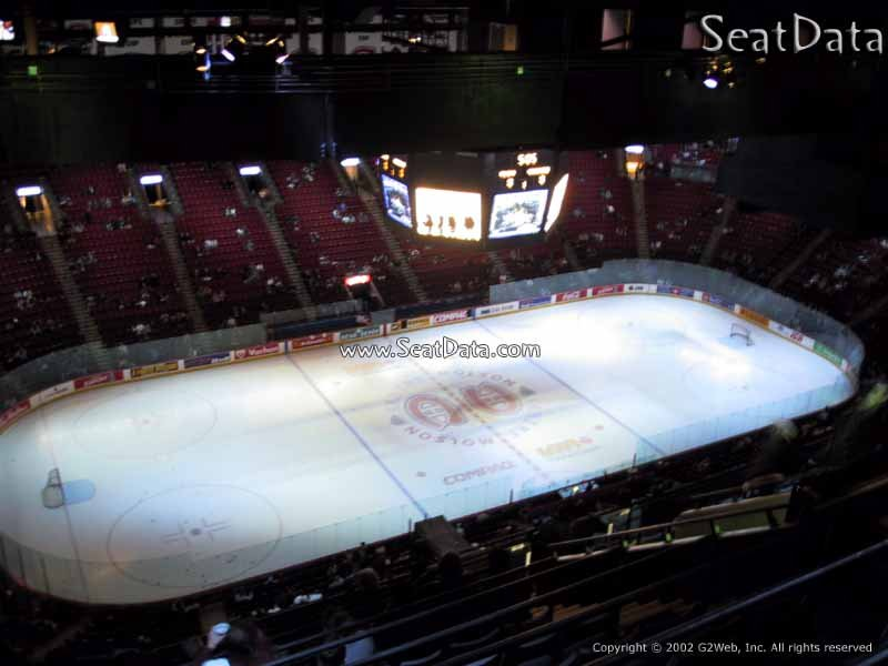 Bell Centre Section 422 - Montreal Canadiens ...