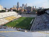 Seat View for Bobby Dodd Stadium Section 212