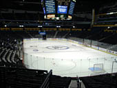 Nashville Predators Seat View for Bridgestone Arena Section 120