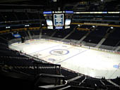 Nashville Predators Seat View for Bridgestone Arena Section 327