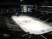 Nashville Predators Seat View for Bridgestone Arena Section 330