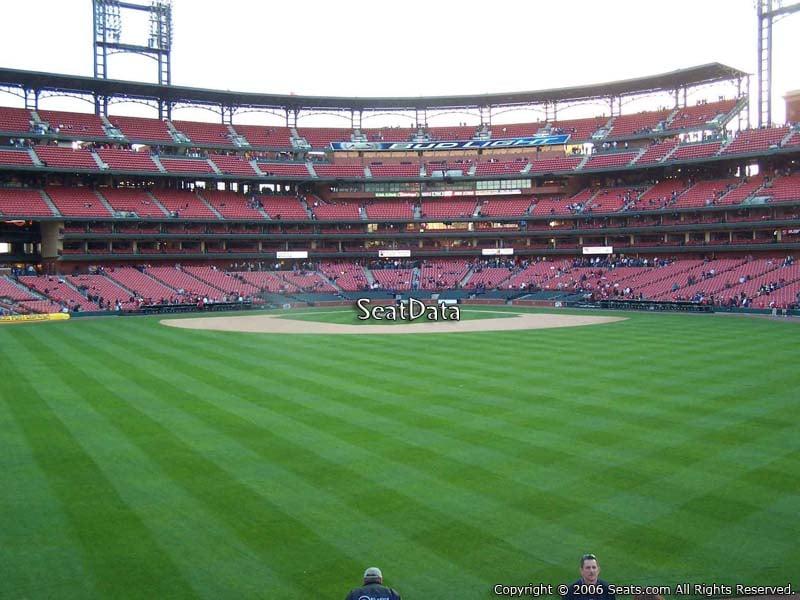 Busch Stadium Section 197 - RateYourSeats.com