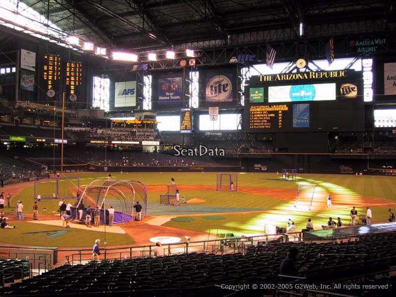 Chase Field Phoenix Tickets Schedule Seating Chart | Autos Post
