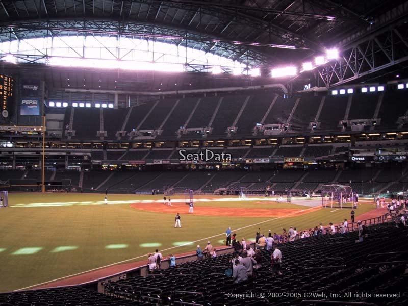 Chase Field Section 135 Arizona Diamondbacks