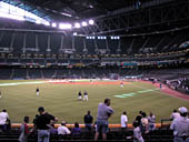 Arizona Diamondbacks Seat View for Chase Field Section 140