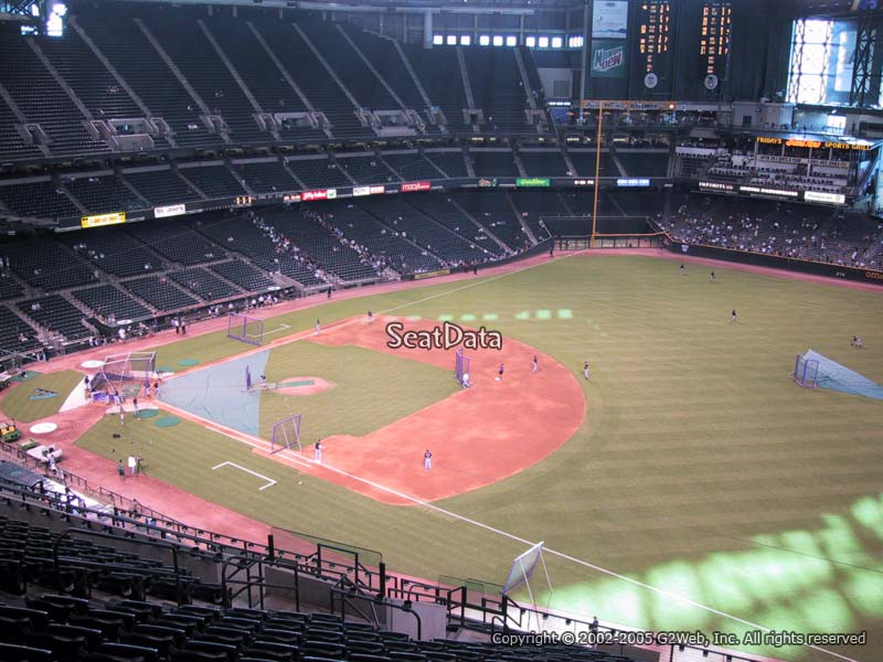 Chase Field Section 305 Seat View