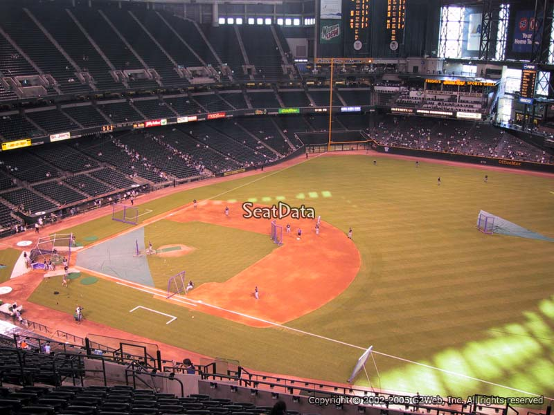 Chase Field Section 306 Arizona Diamondbacks