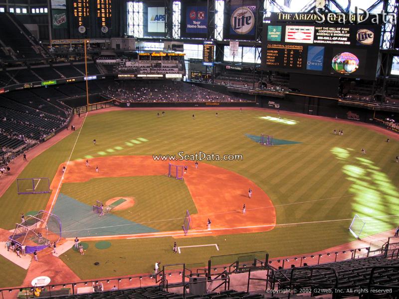 Chase Field Section 311 Arizona Diamondbacks