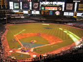 Arizona Diamondbacks Seat View for Chase Field Section 314