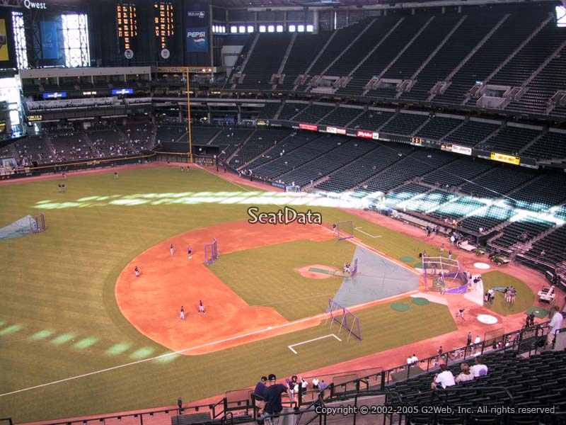 Chase Field Section 325 Arizona Diamondbacks