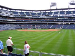 view from Section 102