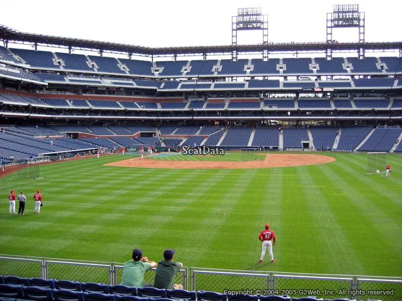 Citizens Bank Park Section 104 Philadelphia Phillies