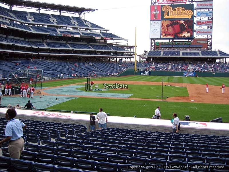 Citizens Bank Park Section 116 Philadelphia Phillies