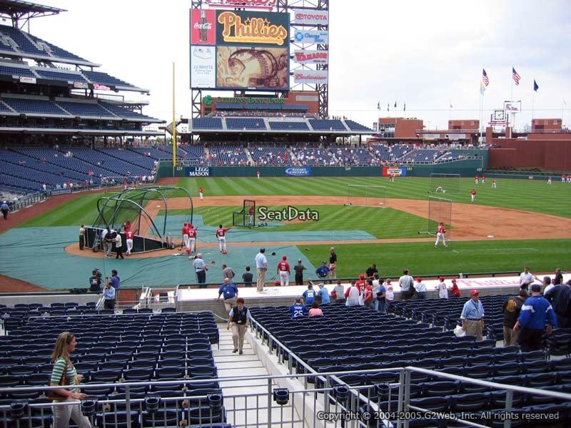 Citizens Bank Park Section 119 Philadelphia Phillies