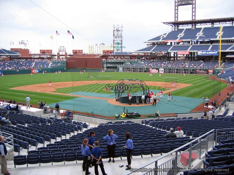 Citizens Bank Park Section 125 Philadelphia Phillies