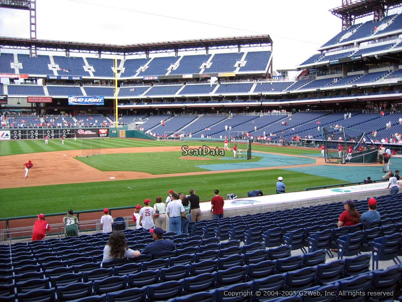Citizens Bank Park Section 132 Philadelphia Phillies